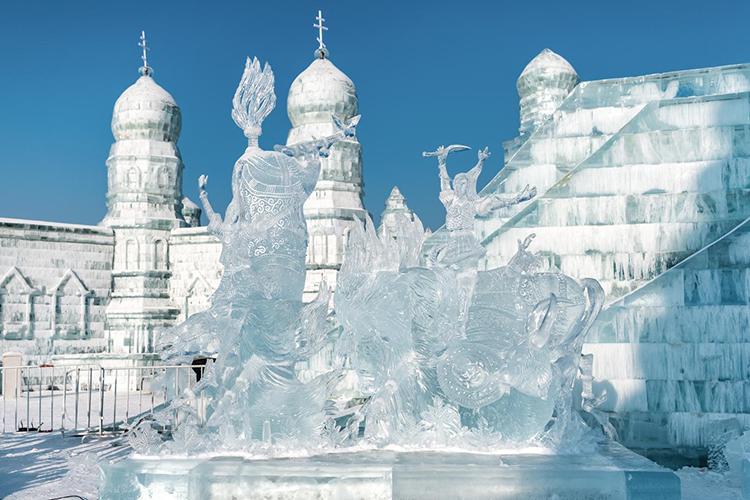【拍照攻略】哈尔滨冰雪大世界内千万不要错过的 各处取景宝地
